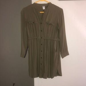 Olive Green Old Navy Dress